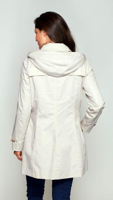 Womens Hooded Mac Rain Coat